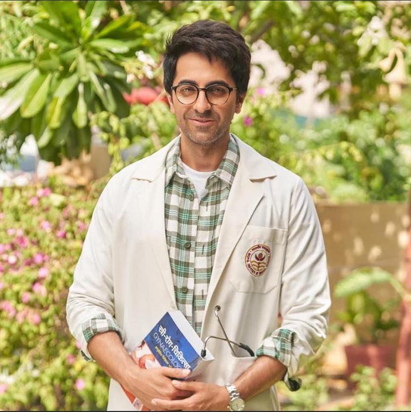 Ayushmann Khurrana shares first look of 'Doctor G' movie
