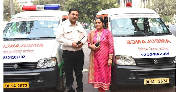 #FirstStoryPositive: Couple's 20 years of sacrifice for providing free ambulance service to 80K patients