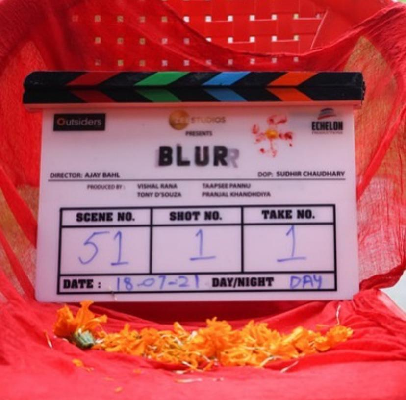 It's a 'Shubh Arambh' for Taapsee Pannu's first project 'Blurr' under her own production house
