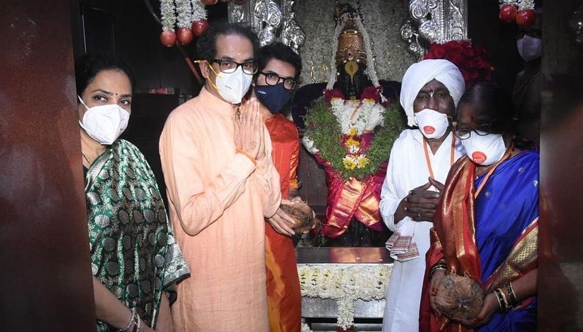 Uddhav Thackeray performs Mahapuja On 'Ashadhi Ekadashi', prays for end of Covid crisis