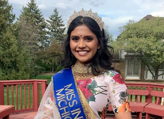 Vaidehi Dongre from Michigan crowned Miss India USA, longest running Indian pageant!