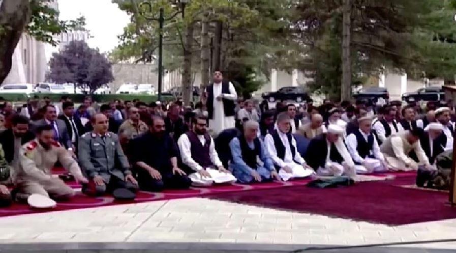 Taliban fires rockets near Afghan President Ashraf Ghani's residence during Eid prayers. Watch video