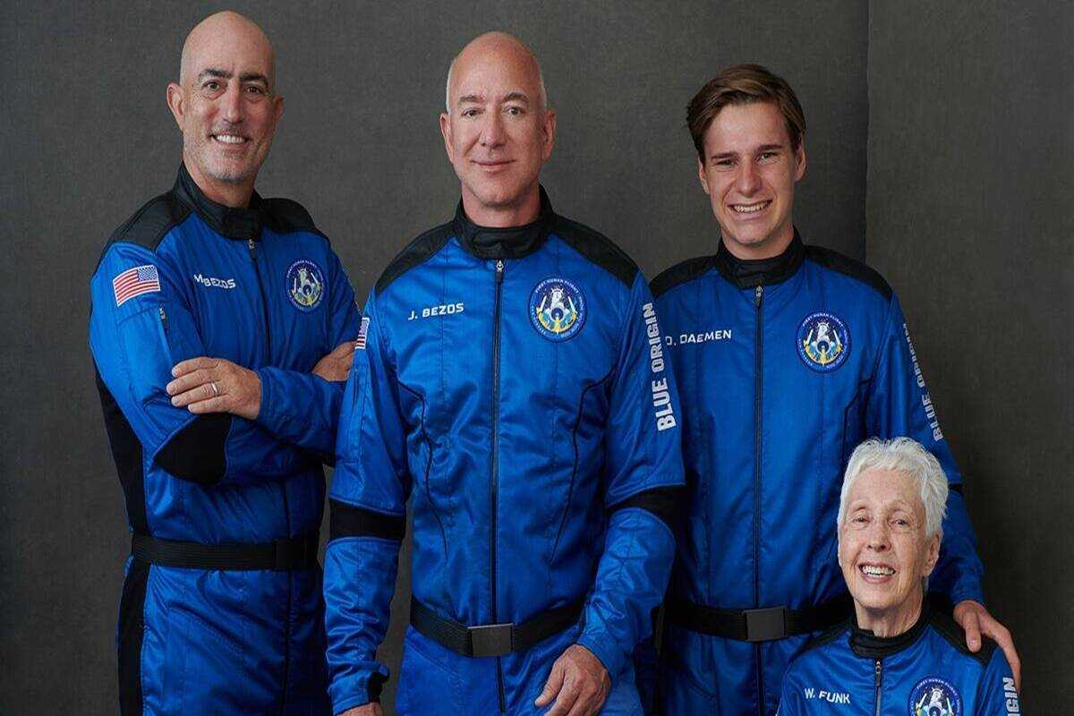 Jeff Bezos to travel space in his own rocket today; Know how to watch live stream