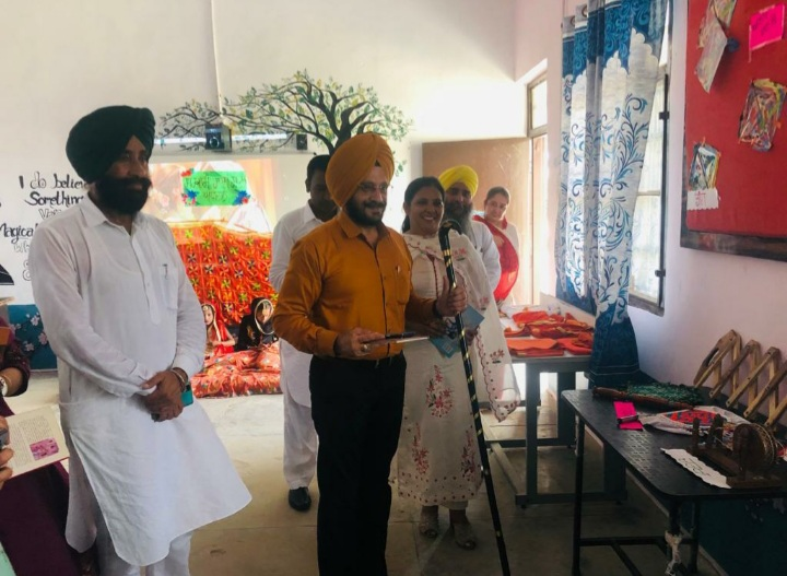 Cultural activities, Library Langar held at Govt School in Amritsar to keep students engaged
