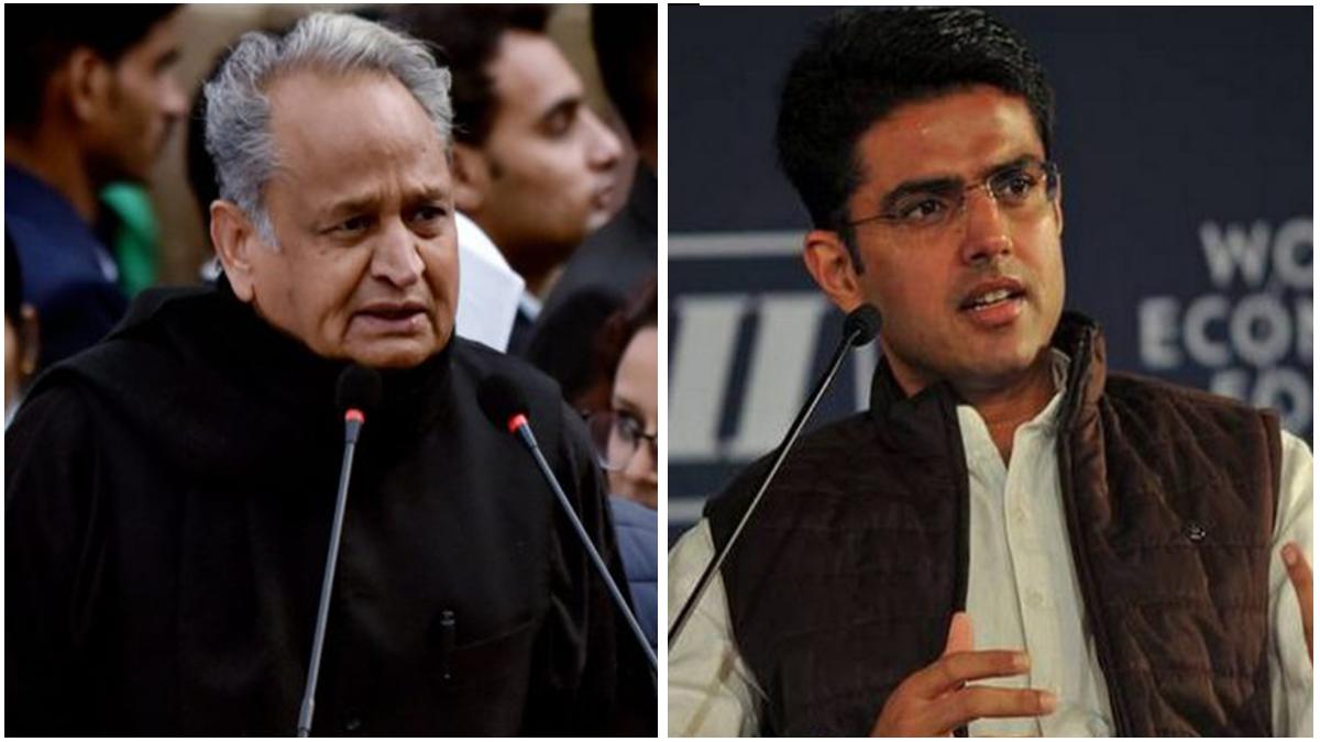 Ashok Gehlot vs Sachin Pilot! Sidhu's elevation cause stir in Rajasthan Congress