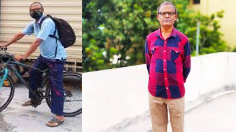 #FirstStoryPositive: Meet KR Srinivas Rao, a 'Covid hero on two wheels'