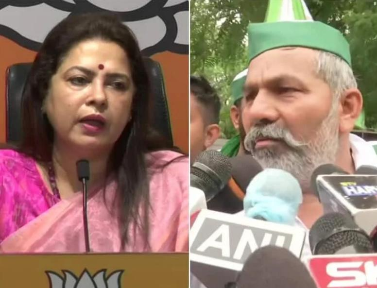 """""""The protesters in Delhi are not farmers, they are mawali,"""" says BJP MP Meenakshi Lekhi"""