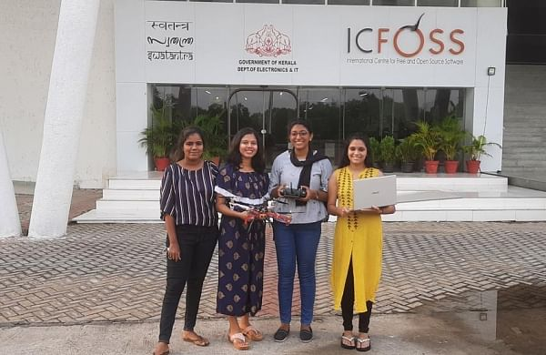 #FirstStoryPositive: Kerala Female engineering students develop drone to track stranded people during disaster
