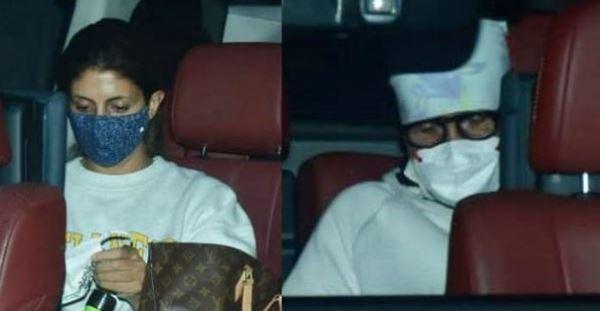 Abhishek Bachchan hospitalized, Amitabh Bachchan, sister Shweta pay a visit at hospital to see him
