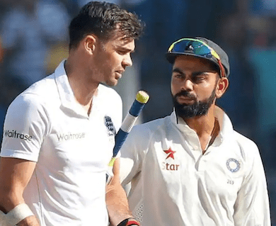 Find out what Virat Kohli told to James Anderson during short ball barrage by Jasprit Bumrah
