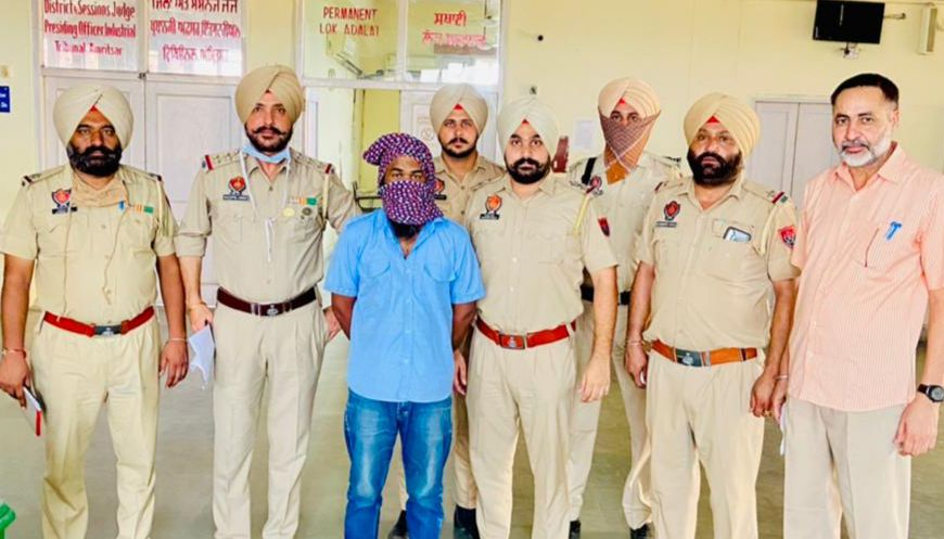 17 kg heroin worth over 85 crore smuggled from J&K seized in Punjab; one held