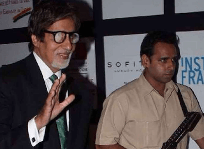 Amitabh Bachchan's bodyguard earning Rs 1.5 Cr per year, transferred after reports go viral