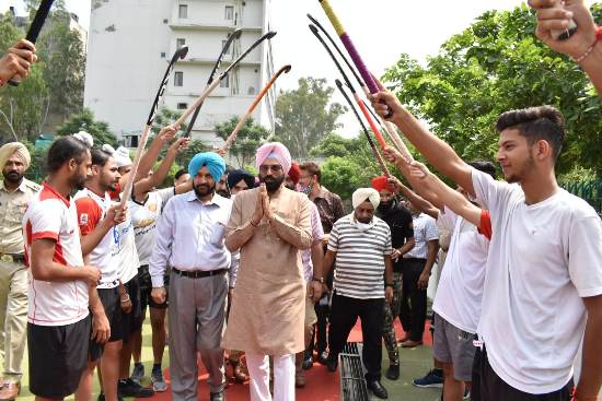 Rana Gurmit Sodhi lays foundation stone of 3 sports infrastructure projects worth Rs 7.75 crore in Jalandhar