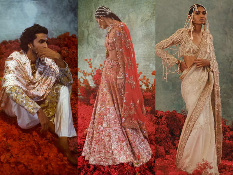 Designer Anamika Khanna's couture is a spectacular homage to Indian crafts