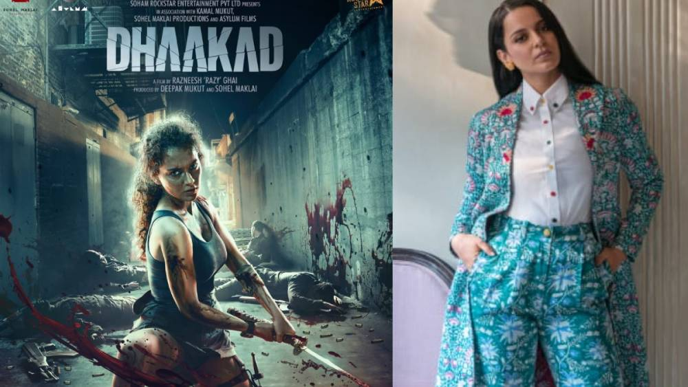 Kangana to experiment with 10 different looks in Dhaakad; film in post-production stage