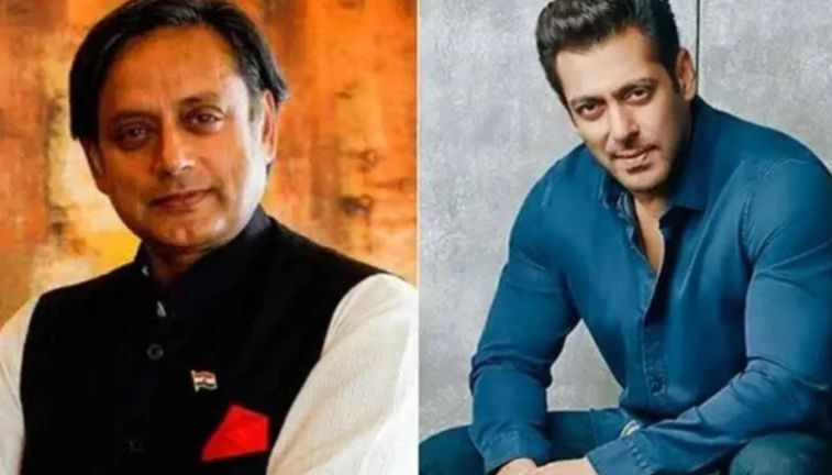 Salman Khan once offered Shashi Tharoor role of foreign minister