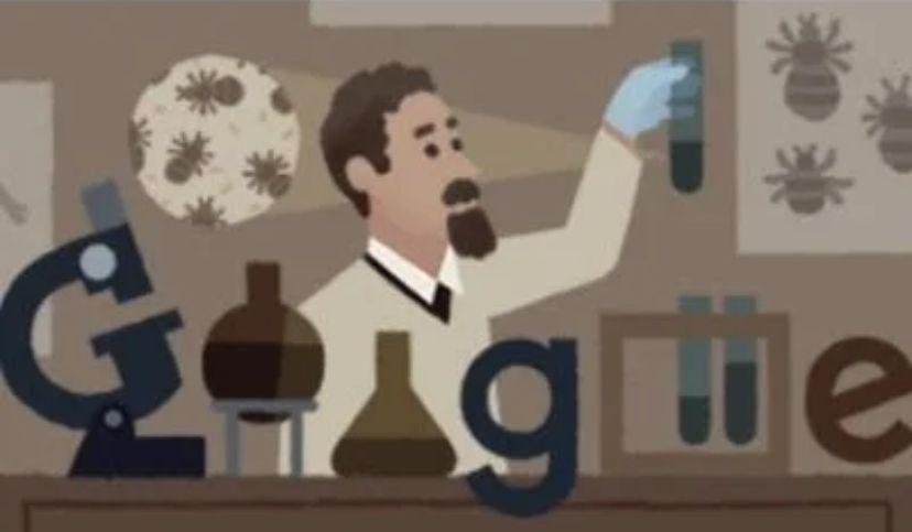 Google Doodle honours Polish Inventor Rudolf Stefan Weigl's on his 138th Birthday