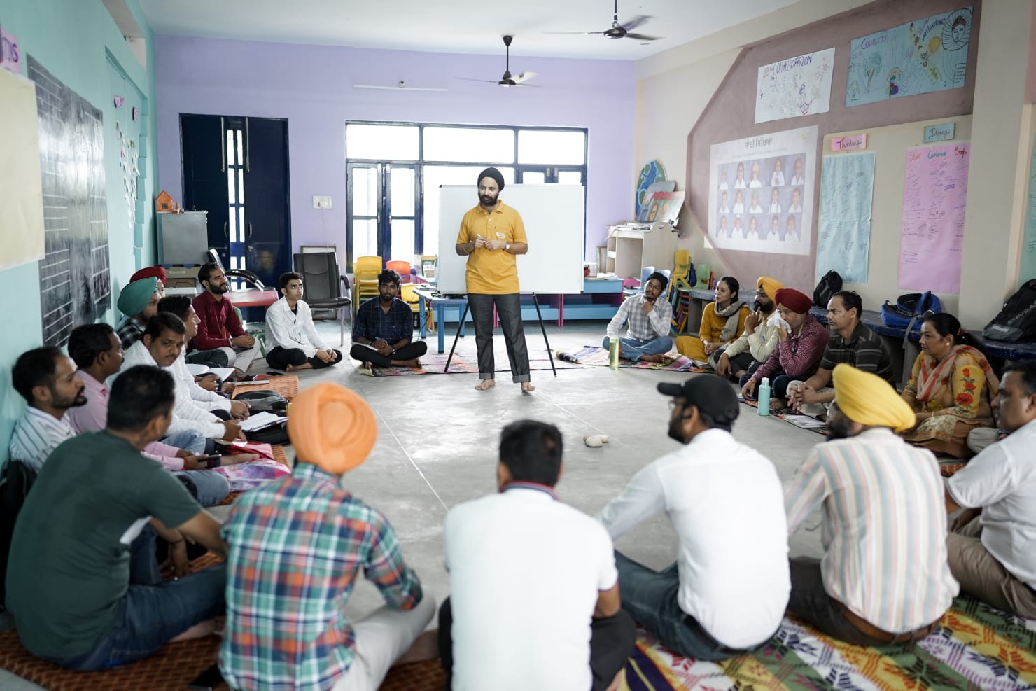 Sanjhi Sikhia, Padho Punjab teams hold meeting to discuss state of education in Ropar