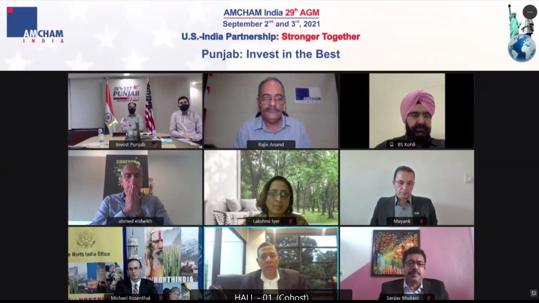 In a first, Punjab inks MoU with AMCHAM India, will facilitate ease of doing business with USA companies