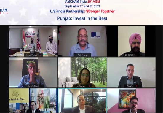 Punjab inks MoU with American Chamber to facilitate Ease Of Doing Business