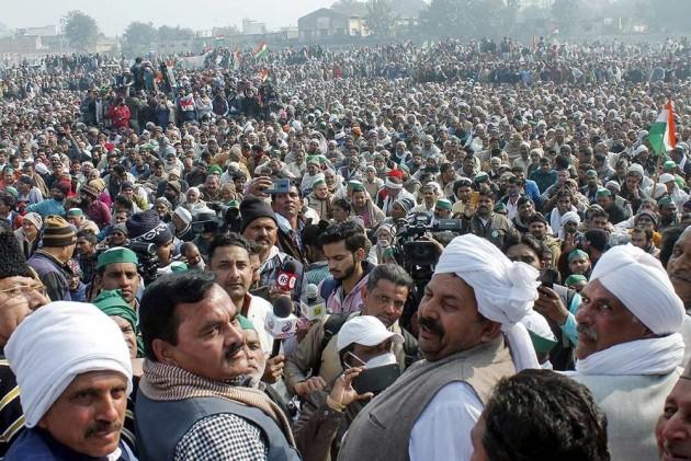 Muzaffarnagar Kisan Mahapanchayat: 'Agitation will continue until govt fulfils our demands', says Rakesh Tikait