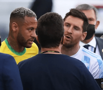 FIFA World Cup 2022 Qualifiers: Brazil vs Argentina Suspended Over COVID-19 Breach