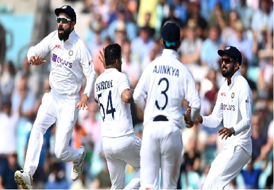 Indian Cricket beat England at Oval after 50 years; register historic win