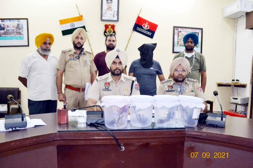 Sangrur police nabs dreaded gangster Jaspreet Babbi wanted in 17 criminal cases of murder & extortion