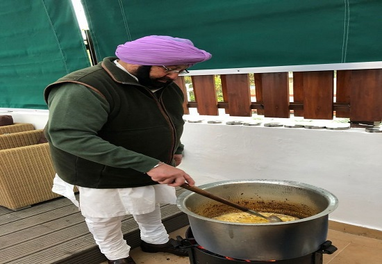 Pulao, Lamb, Chicken, Aloo & Zarda rice on the Menu as Punjab CM Dons Apron for the Olympic Champions