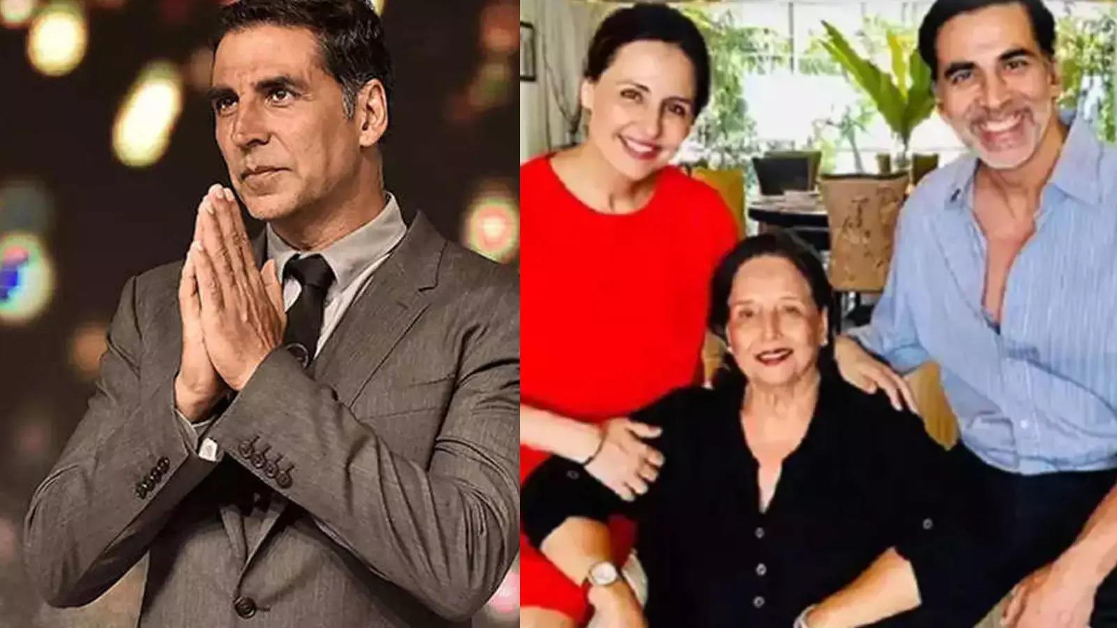 """Akshay Kumar mom Aruna Bhatia passes away; actor writes, """"She was my core"""""""