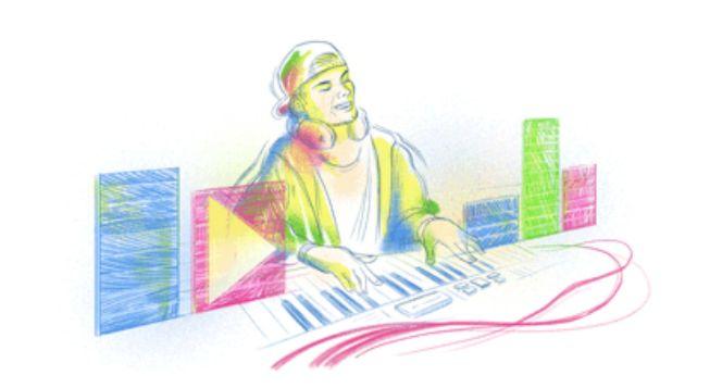 Google Doodle celebrates Swedish DJ Tim Bergling, on his 32nd birthday