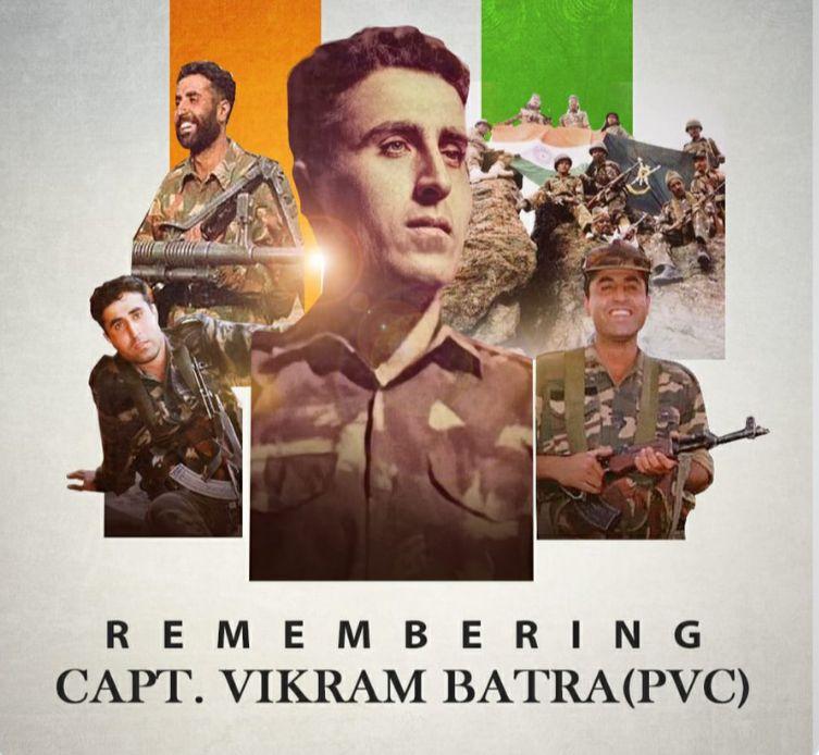 Remembering our valorous Kargil war hero 'Shershaah' Capt Vikram Batra on his Birth Anniversary