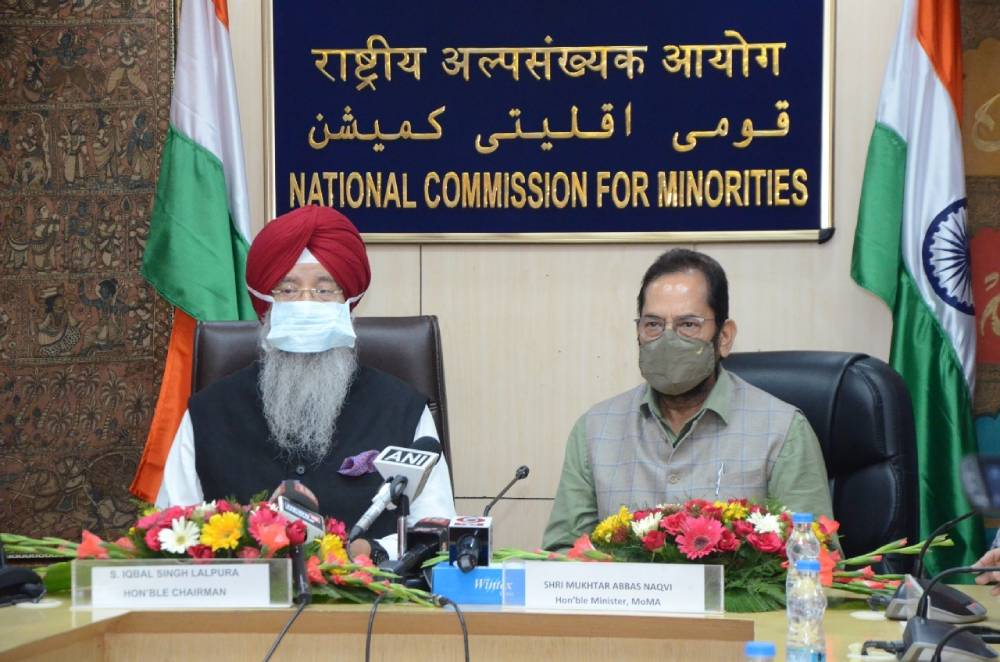 Sardar Iqbal Singh Lalpura takes charge as the Chairman of National Commission for Minorities