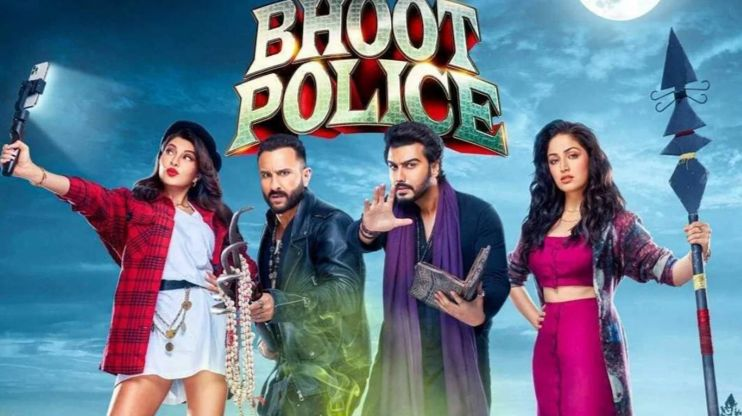 Bhoot Police Review: Saif Ali Khan and Arjun Kapoor sizzles in horror-comedy movie