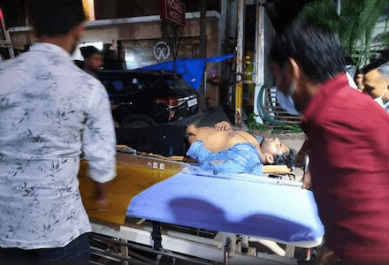 Sai Dharam Tej injured in a bike accident; Jr NTR, other celebrities wish speedy recovery