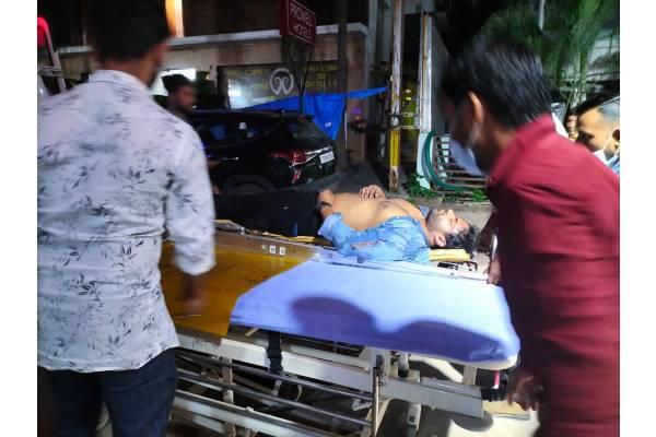 Watch: Sai Dharam Tej bike accident, video goes viral