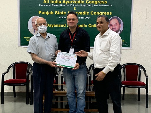 Six-day long CME programme was conducted for private and Government Ayurveda practitioners
