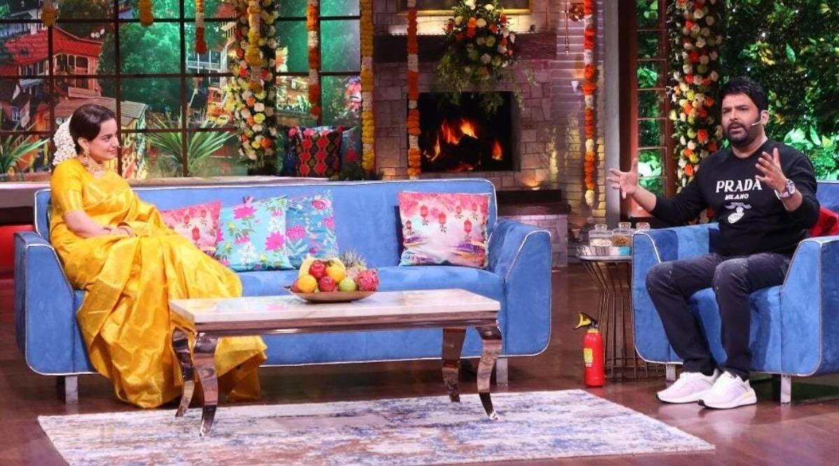 'itne din ho gaye, koi controversy nahi hui': Kapil Sharma jokes with Kangana Ranaut on his show. Watch