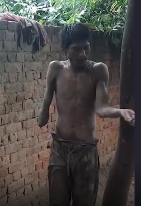 Mother ties drug-addicted son with tree after not having money for treatment