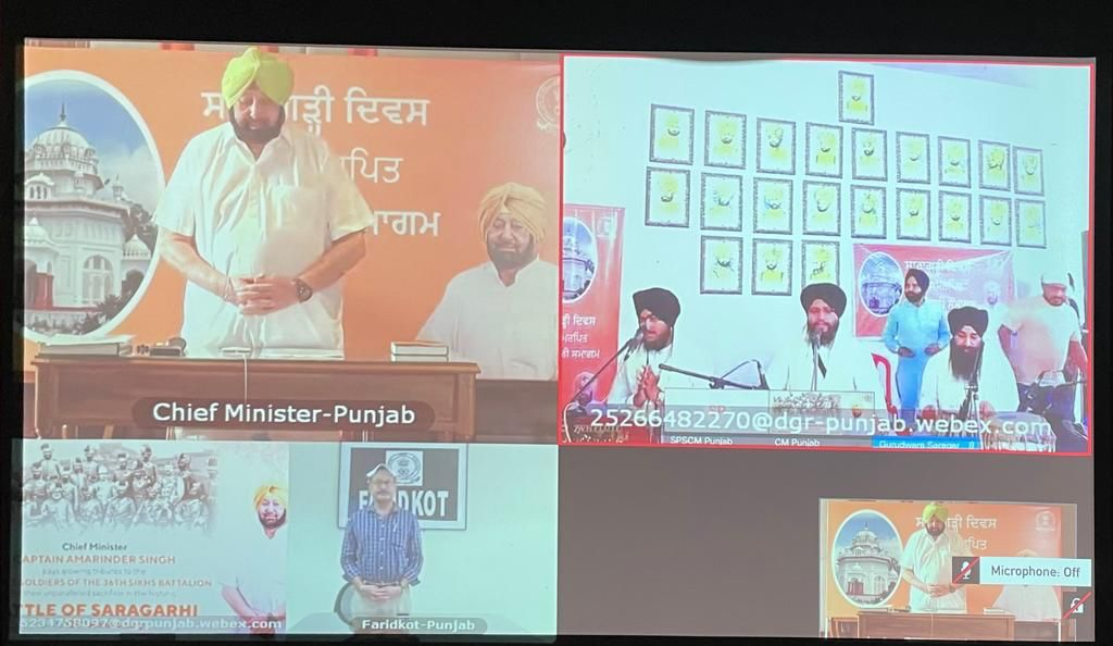 Punjab CM pays tributes to Saragarhi soldiers on battle's 124th anniversary