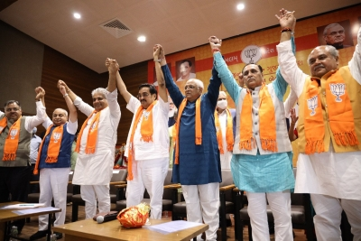New Gujarat CM Bhupendra Patel to take oath on Monday
