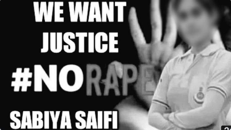 #JusticeforSabiyaSaifi trends on Twitter; Demand for justice growing day by day