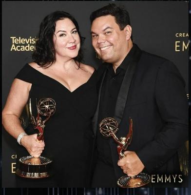 Dolly Parton, Robert Lopez among winners of Creative Arts Emmy Awards