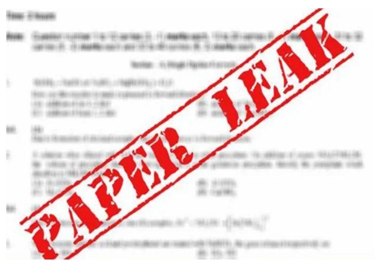 Jaipur cops arrest 8 persons for leaking NEET exam paper