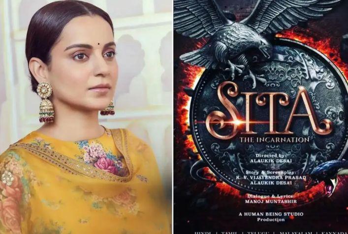 Kangana Ranaut roped in to play Goddess Sita in Alaukik Desai's The Incarnation Sita