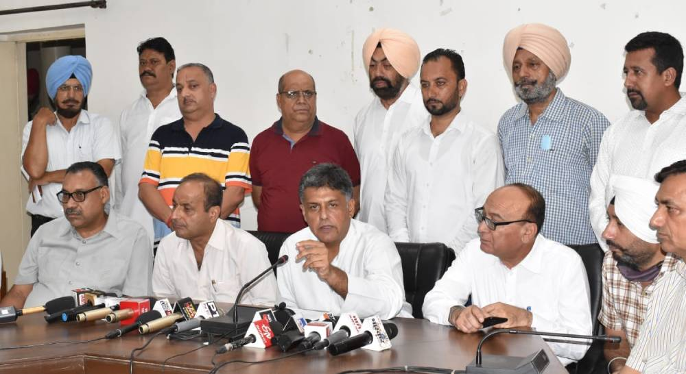 Il-conceived economic policies of centre make crores of people unemployed: Manish Tewari