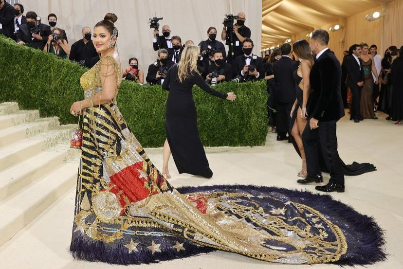 Philanthropist, Sudha Reddy, the only Indian to attend Met Gala 2021