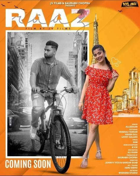 Music album 'Raaz' featuring Allishaan, Vaishali Takkar soon to take on your playlist