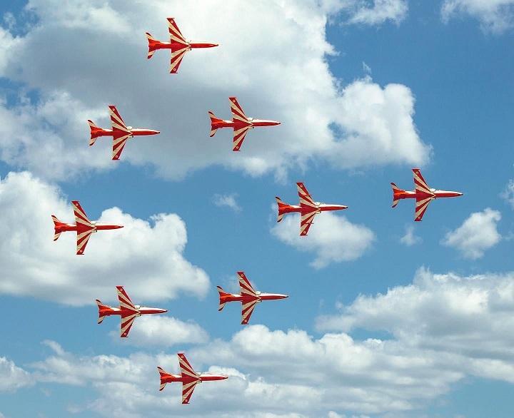Know the reason behind arrival of Surya Kiran Aerobatic teams in Jalandhar