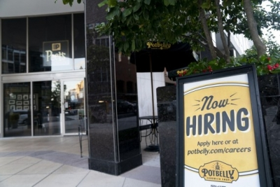 US initial jobless claims tick up again to 332,000